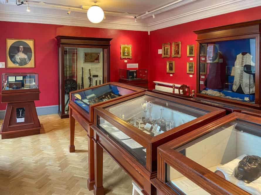 West Highland Museum interior, Cameron Square, Fort William, Highland, Scotland, United Kingdom.