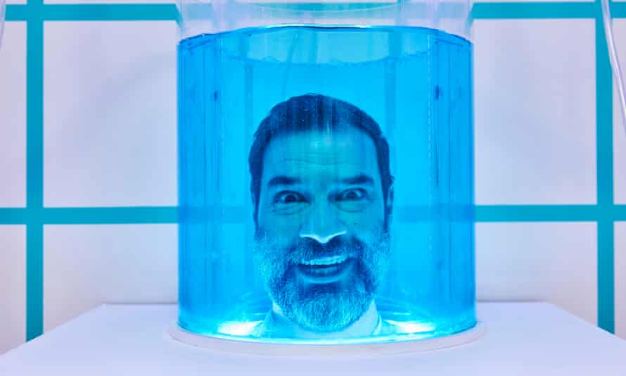 Adam Buxton in The Crystal Maze