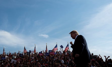 Trump in Ocala, Florida for a rally on Friday. The rally on Saturday is schedule for Janesville, a small city in the south of Wisconsin.