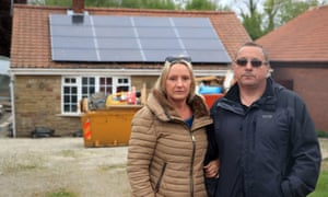 Kevin Lorryman, and his wife Catherine, are unlikely to be able to move back to their rebuilt home until September.