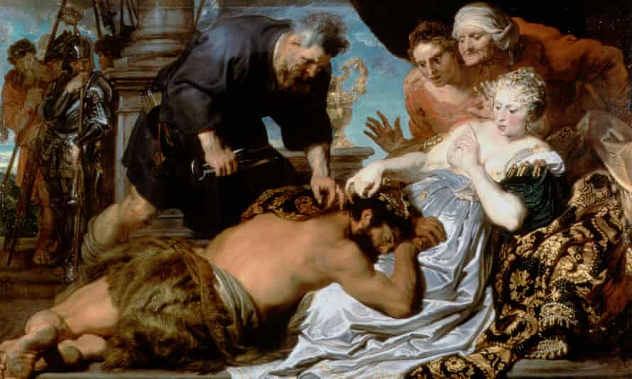 Samson and Delilah by Sir Anthony van Dyck (c.1618-20).