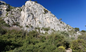 The Nietzsche track in the Alpes-Maritimes.