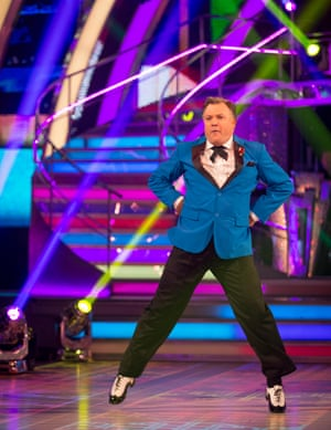 A man who learns a dance as if he were Hermione Granger facing expulsion from Hogwarts … Ed Balls.