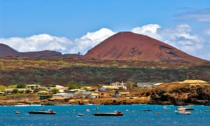 Ascension island in the south Atlantic.