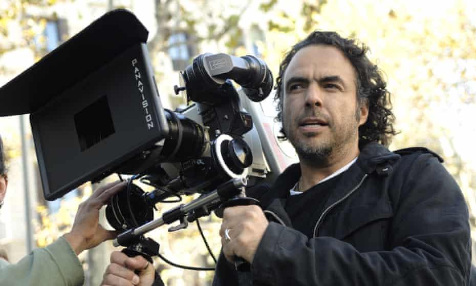 A Latino presence at Hollywood's top table … Alejandro González Iñárritu on the set of his 2010 film Biutiful.