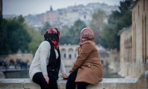 Two Syrian sisters who rescued a Yazidi slave