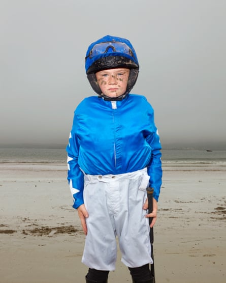 Young jockey Dylan O'Connor, 10