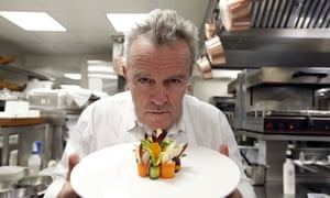 French chef Alain Passard, head chef of L'Arpège.