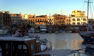 The Old Harbour in Kyrenia, northern Cyprus