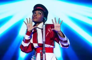 'Eclectic, funky and righteous': Janelle Monáe, whose Dirty Computer lit up the year.
