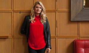 Emily Atkinson is now a leader in the women's tech community.