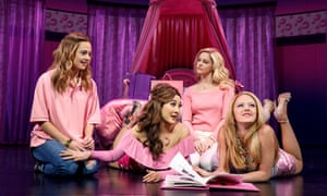 Mean Girls on Broadway.