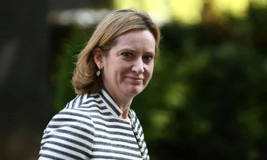 Amber Rudd: 'We must not imply that this terrorist activity may not have taken place if there had been more policing.'