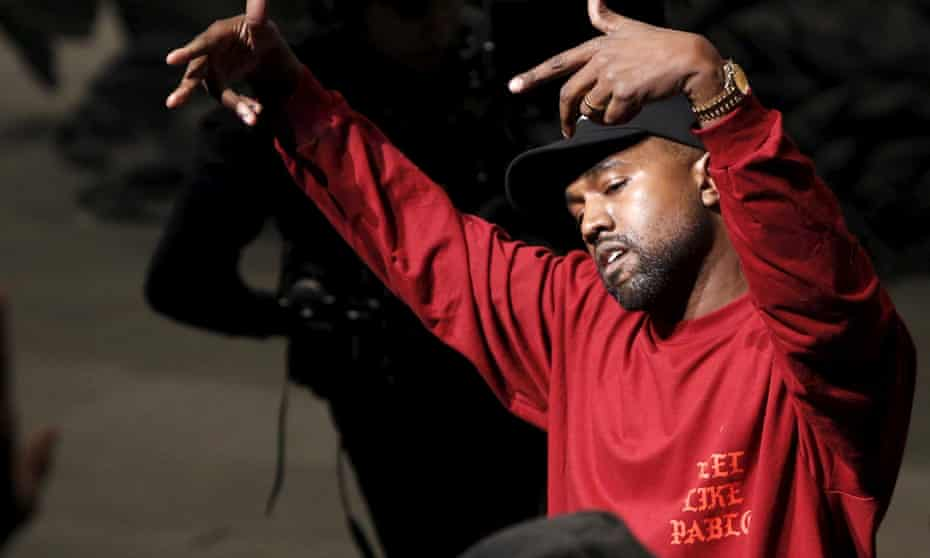 Kanye West at his Yeezy Season 3 fashion launch and The Life of Pablo listening party.