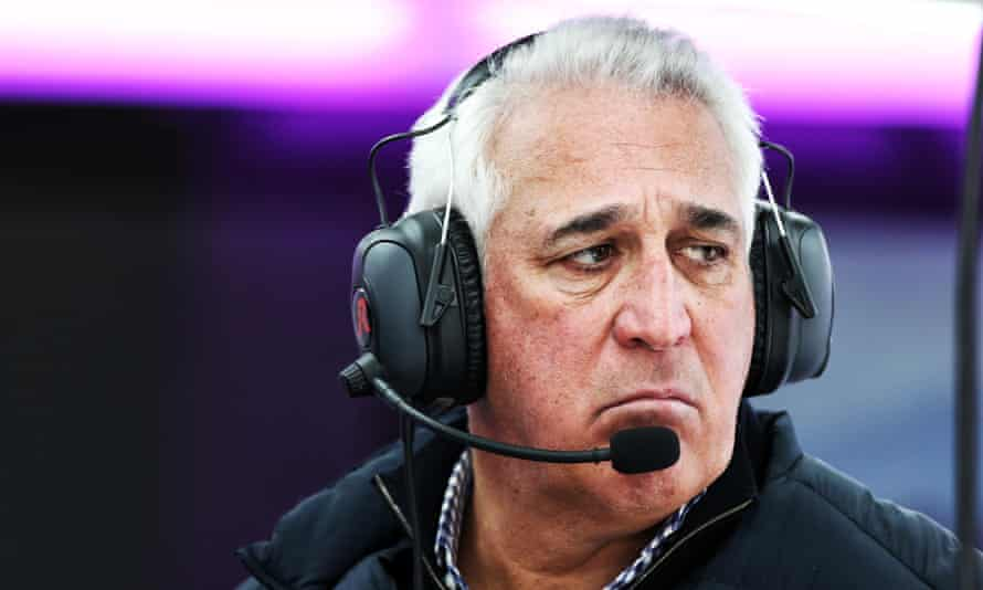 Lawrence Stroll in his role as boss of the Formula One team Racing Point