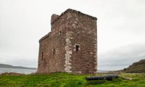 Portencross Castle, Portencross, North Ayrshire