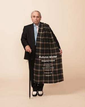 Doctor Who actor Sylvester McCoy for winter scarves feature