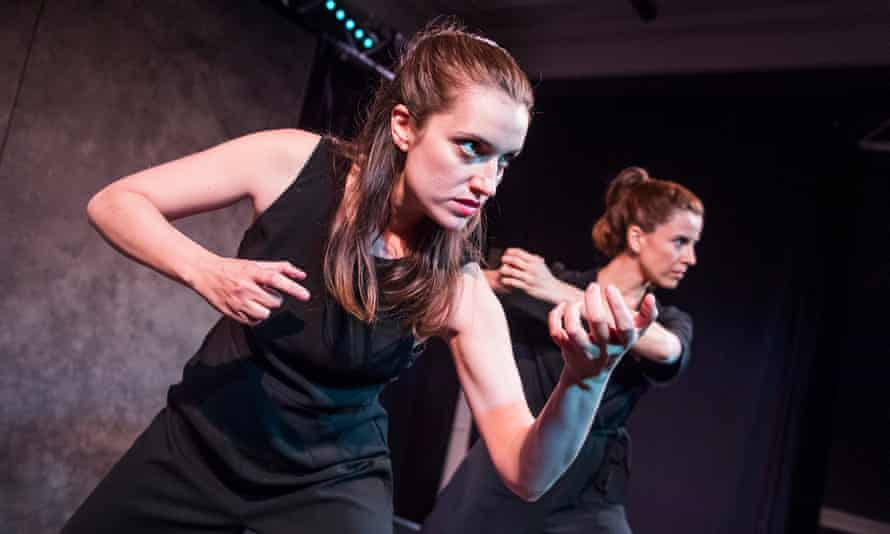 Paula Rodriguez and Sandra Arpa in Rosaura at The Theatre Room, London