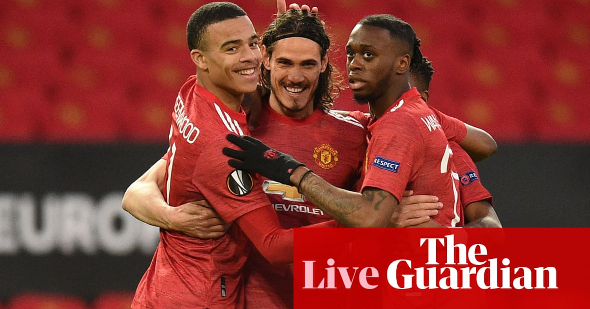 Manchester United v Granada: Europa League quarter-final, second leg – live!