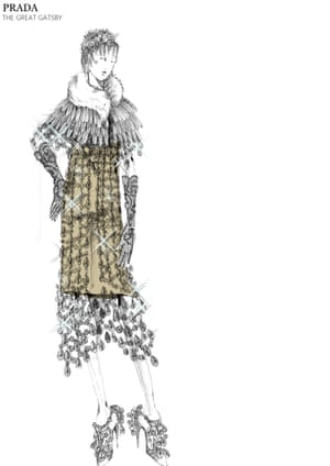 Catherine Martin design for 2013 film The Great Gatsby
