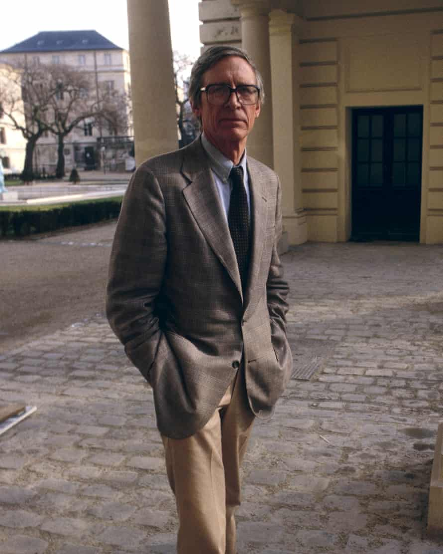 John Rawls in 1987 in Paris.