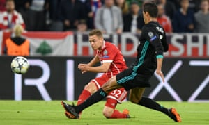 The goal by Bayern Munich's Joshua Kimmich against Real Madrid was perfect example of an athletic modern full-back making an important contribution.