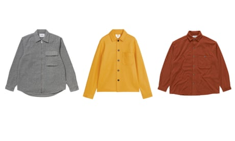Get shirty: ten of the best overshirts for men – in pictures
