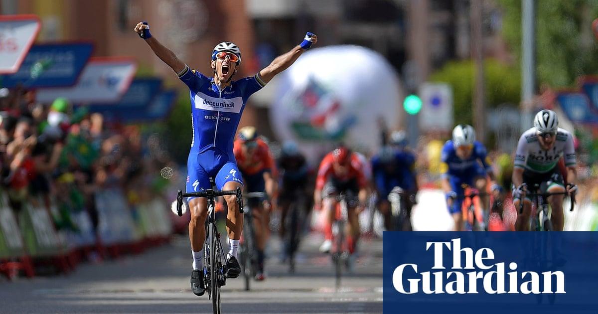 Vuelta a España: Gilbert edges stage 17 as Quintana moves up to second