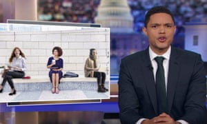 Trevor Noah: 'Imagine if Godzilla is attacking a city, but delivery people still have to keep doing their jobs.'