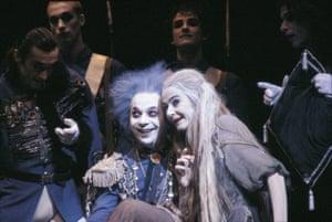 Lindsay Kemp and Nuria Moreno in Cinderella, 2006