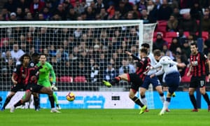 Christian Eriksen opened the scoring for Tottenham on a chastening afternoon for Bournemouth.
