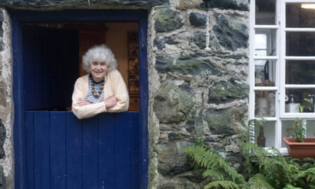 At home in north Wales in 2007.