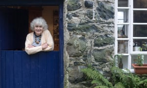 jan morris at her home in north wales