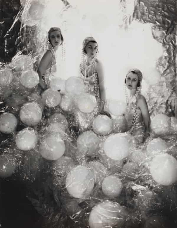 The Silver Soap Suds, left to right Baba Beaton, the Hon Mrs Charles Baillie-Hamilton and Lady Bridget Poulett, 1930.