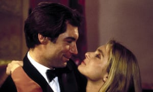 Timothy Dalton and Maryam D'Abo in The Living Daylights.