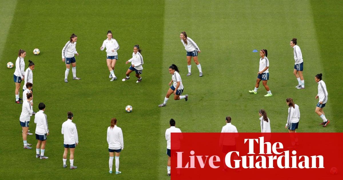 England v Argentina: Women's World Cup 2019 – live!