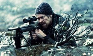 Willem Dafoe in The Hunter.