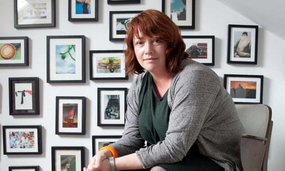 Eimear McBride at her home in Norwich