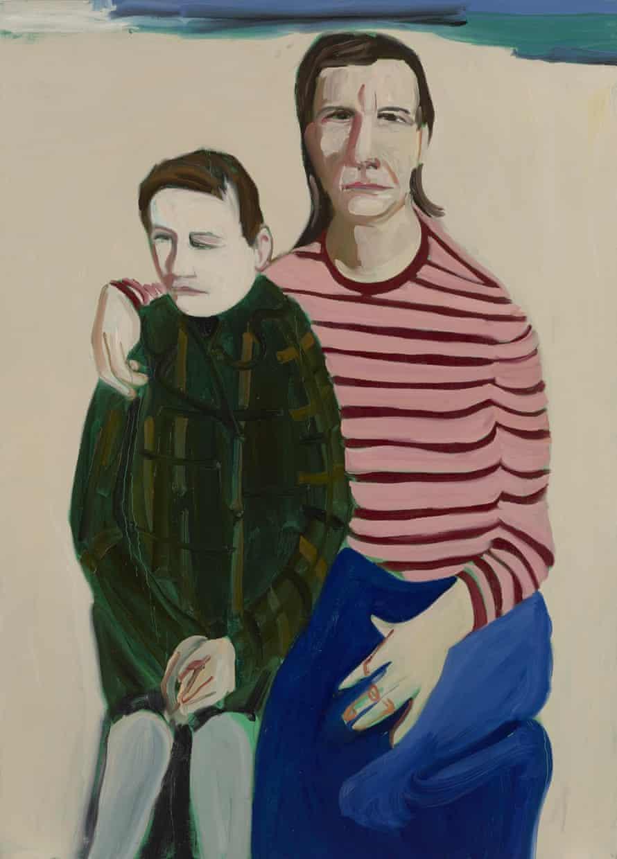 Looking towards Bexhill, 2016, (H213 x W152 cm) Chantal Joffe (b1969)