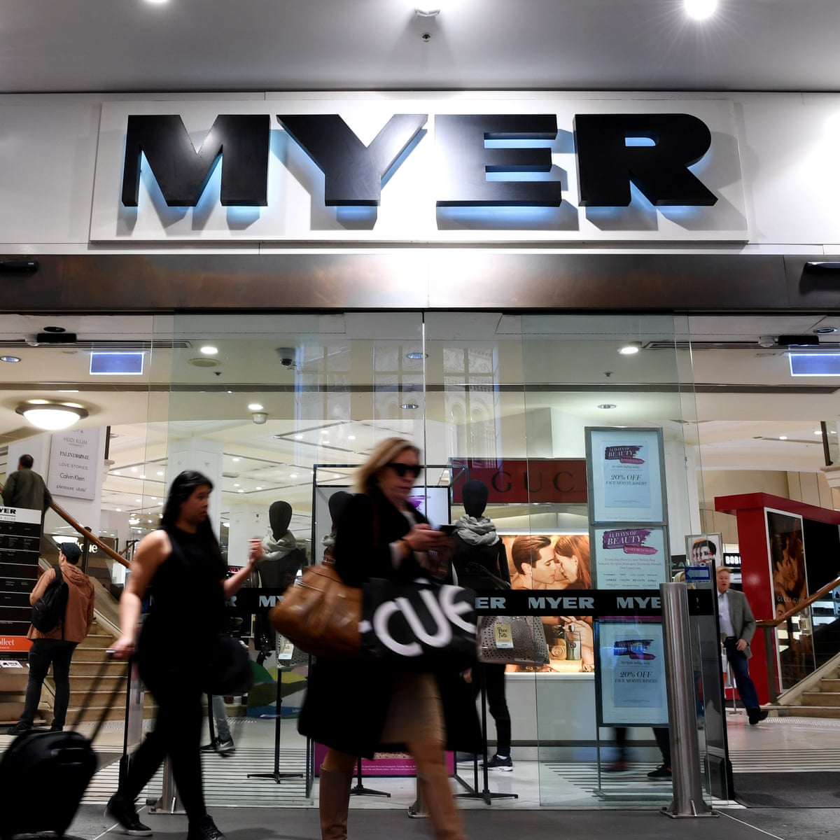 Myer To Continue Closing Stores After Sales Fall 3 5 Over Past Year Business The Guardian