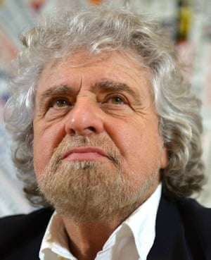 Beppe Grillo, founder of Italy's Five Star Movement