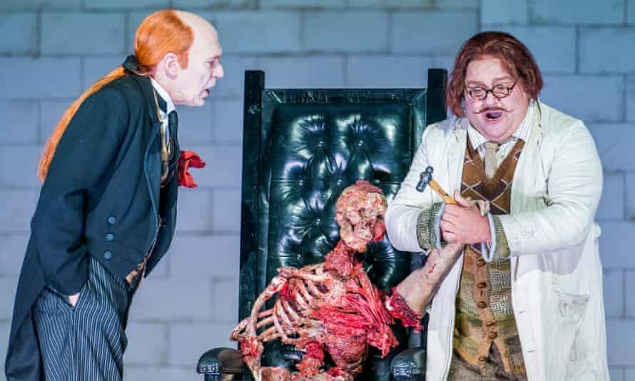 Alan Oke (Loge) and Gerhard Siegel (Mime) in Das Rheingold by Richard Wagner @ Royal Opera House.