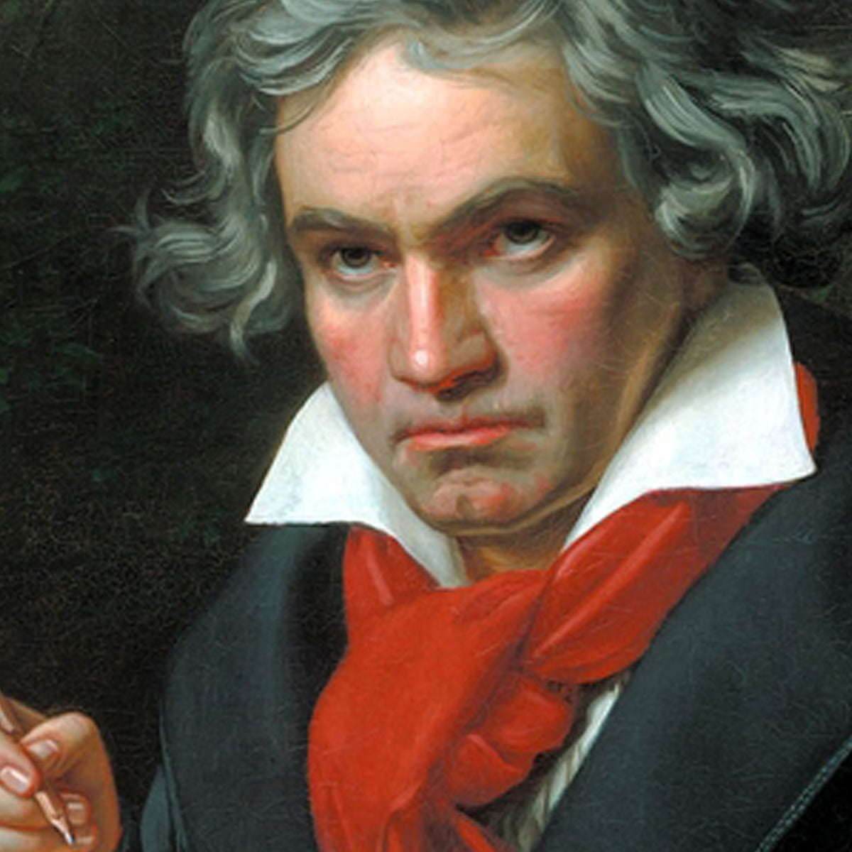 Deaf' genius Beethoven was able to hear his final symphony after all |  Music | The Guardian