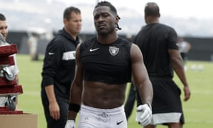 Antonio Brown has ended a brief and unhappy stay with the Raiders