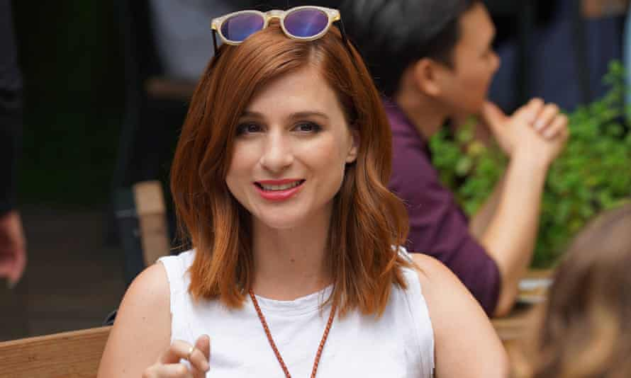 'You fall in love with someone for their worst qualities or what they would think of as their flaws' ... Aya Cash in You're the Worst.