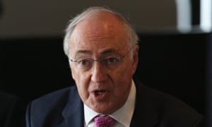 Former Conservative party leader Michael Howard