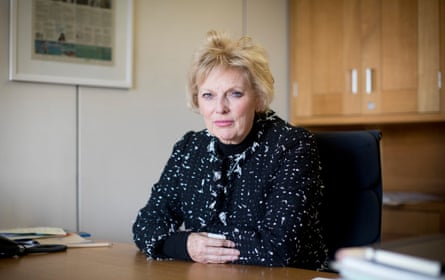 Anna Soubry in her office in parliament