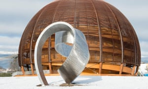 Questions of physics: sculptures at Cern.
