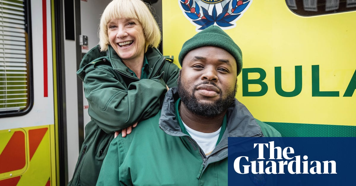 'All she talks about is bees' – Samson Kayo and Jane Horrocks on their new sitcom Bloods