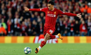 Trent Alexander-Arnold says he is happy to play wherever his managers tell him to play.